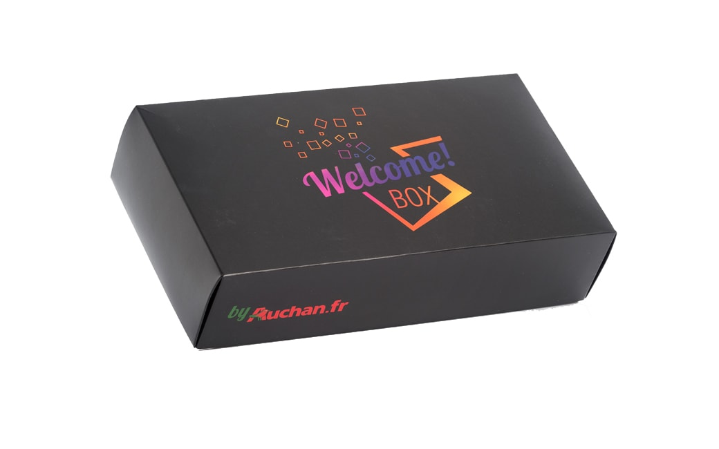 Bo te cadeau personnalisable welcome box by for Exemple boite a idees entreprise